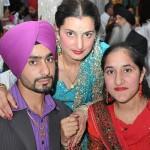 (L-R) Sukhvinder, Parwinder and Amanpreet