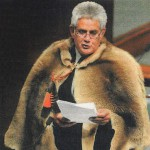 Making international headlines Ken Wyatt and his cloak