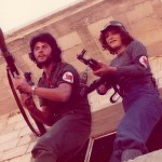 Teenage militia training during the civil war in Lebanon 1976. Photo - Ben Hills