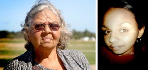 Left: Julieka's Grandmother Carol Roe. Right: Julieka Dhu, Courtesy Carol Roe.