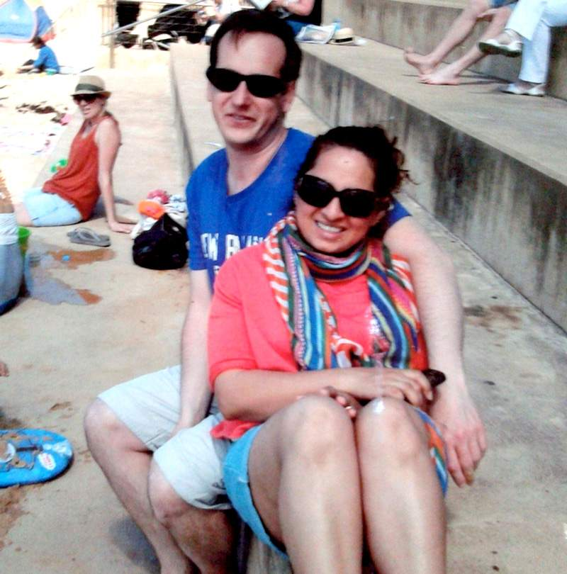 Darren and Susana Milne on their last holiday, a few weeks before the crash that killed them both.