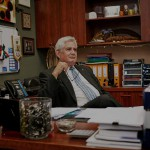 Ken Wyatt in his office